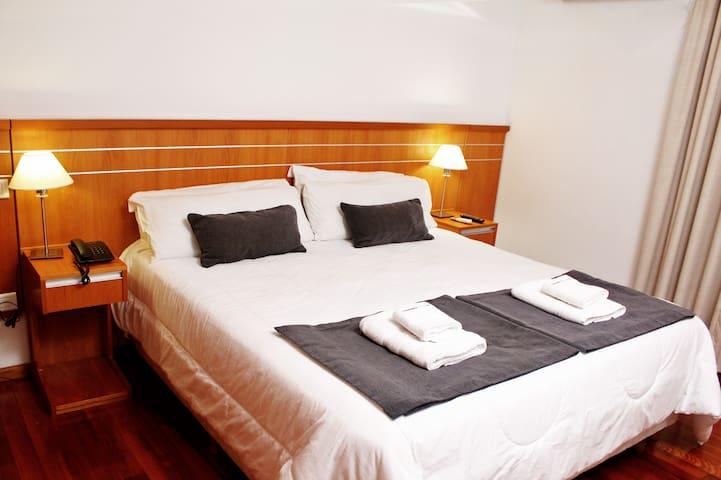 Habitación Privada completa c/ Baño en Apart Hotel