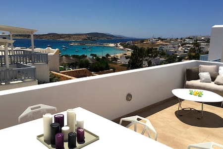 Modern apartment with sea view - Koufonisia - Apartemen
