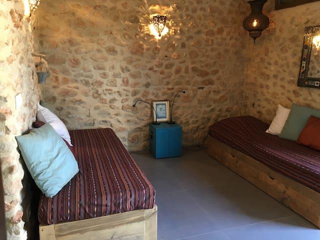 camas separadas (individuales)