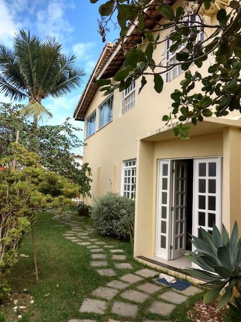 Suite2, casa linda, praia, piscina, cafédamanhã