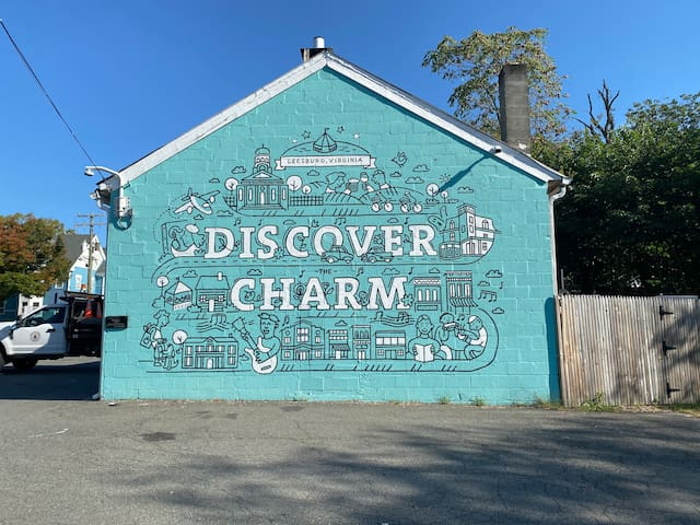 Just steps away from charming historic Leesburg