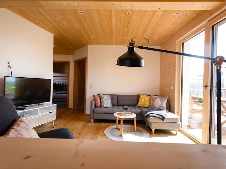 Ferienhaus Zum See - B. u. S. Müller, (Reichenau), Ferienwohnung 1. Etage, 60qm, 2 Schlafzimmer, max. 4 Personen