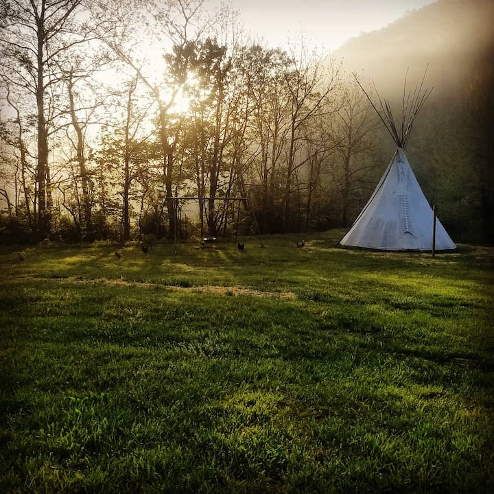 Glampsite #02 - The Tipi