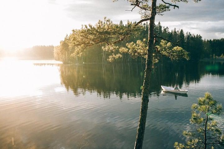 Kaisla Cabin at KATVE Nature Retreat near Helsinki