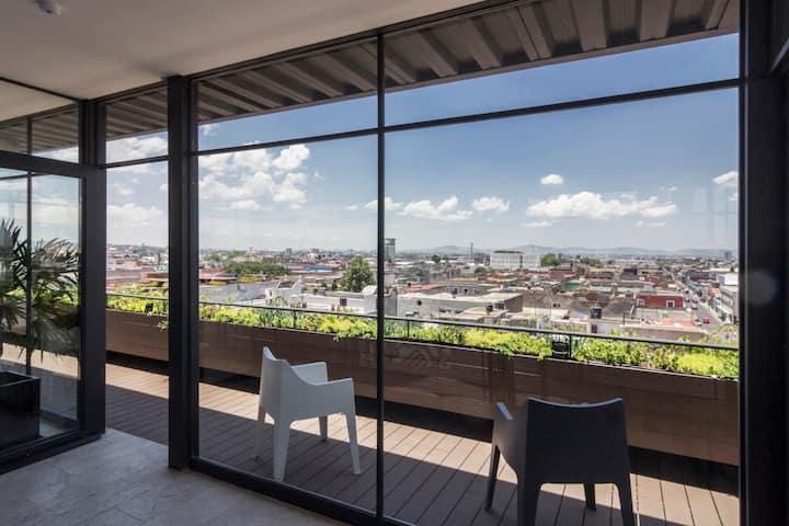 Loft en el Centro Histórico de Puebla. 504