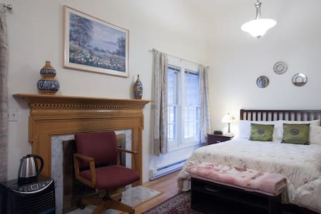 A big room w/ bathroom & a backyard - Vienne