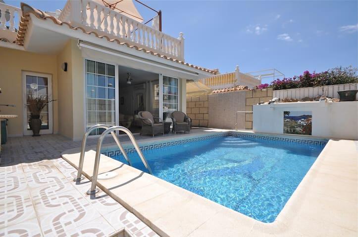 Villa für 8 Personen mit privatem Pool in Palm Mar - Palm-Mar - Dom