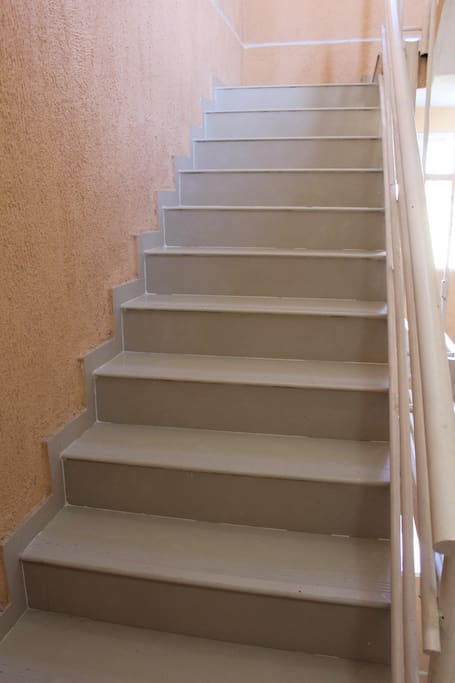 Stairs to go to upstairs