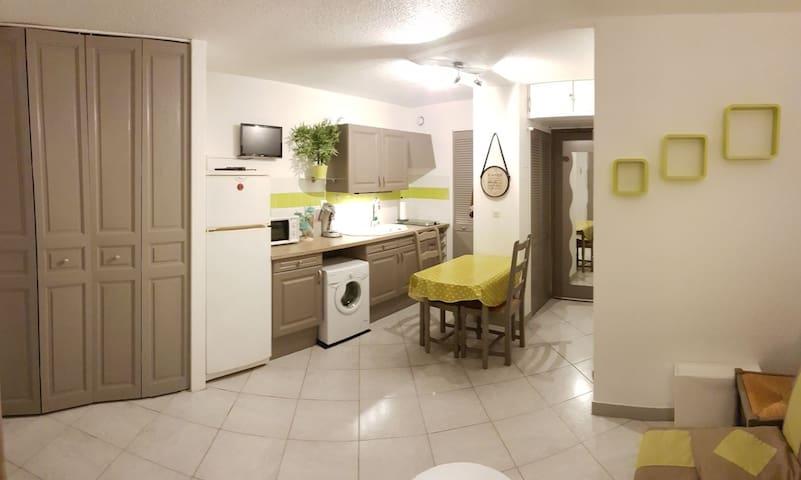 Appartement neuf à 300m de la plage avec wifi
