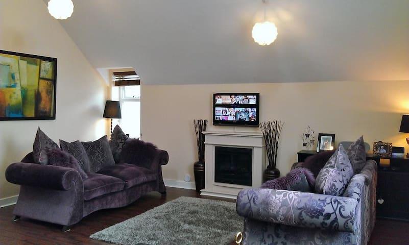 Penthouse Apartment near City Centre - Cardiff - Lakás