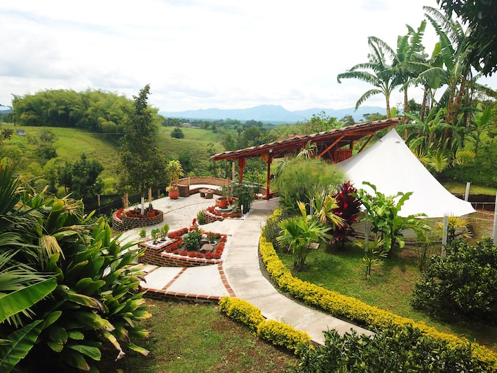 Luxurious Camping, heart of the Coffee Region