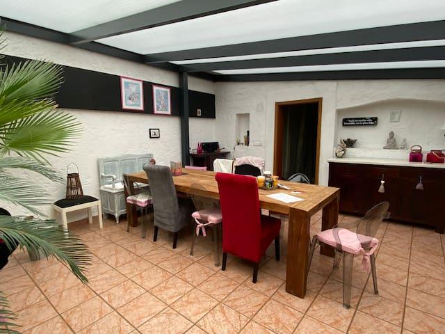2 chambres cosy avec petit déjeuner