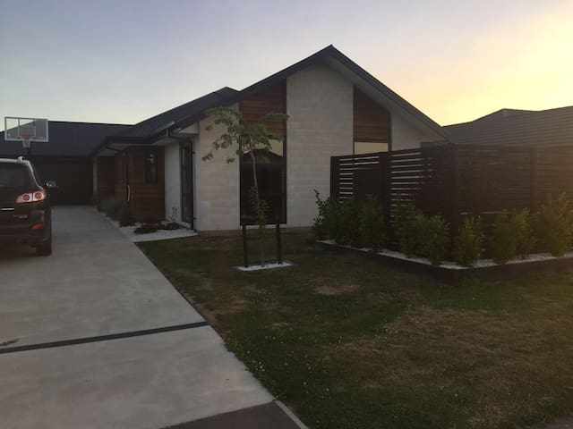 Levi park, 1 room for 2 people - Rolleston - Casa