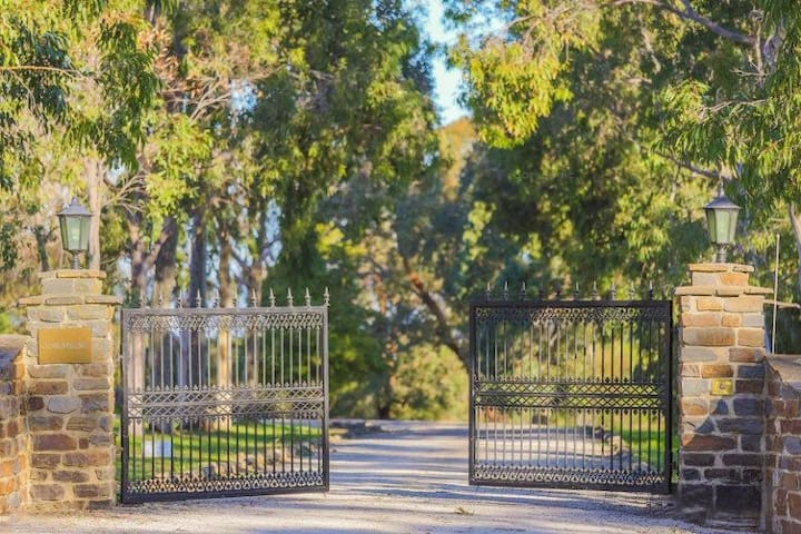 Electric Gate, entrance to secluded lifestyle