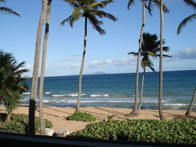 Beach front romantic villa 1