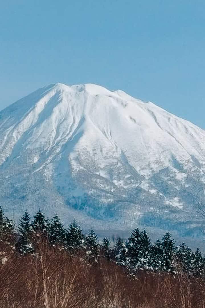Views of Mt Yotei
