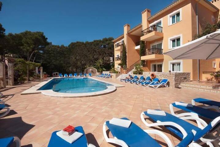 Pool apartment in Cala S Vicente, 538