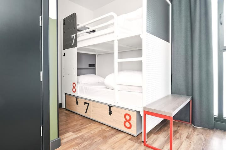 Generator -  Bed in 4-bed Dorm