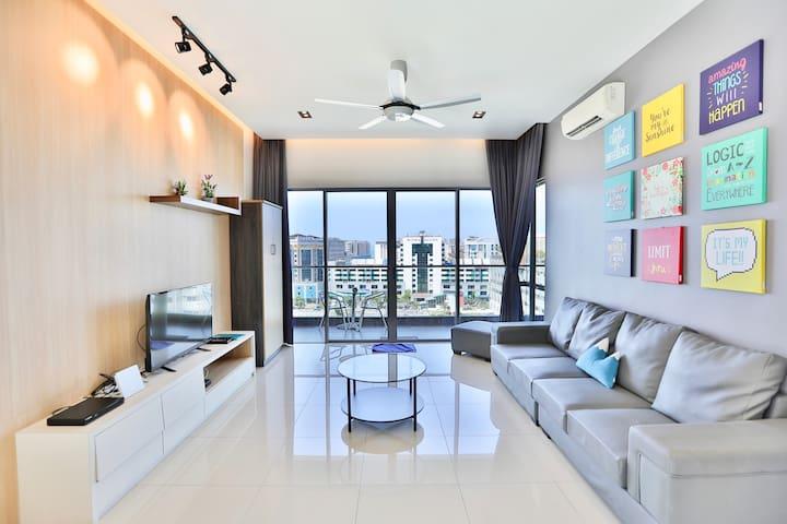 LüSuite 03 - 9PAX 3Bedroom THE LOFT IMAGO 三房海景公寓