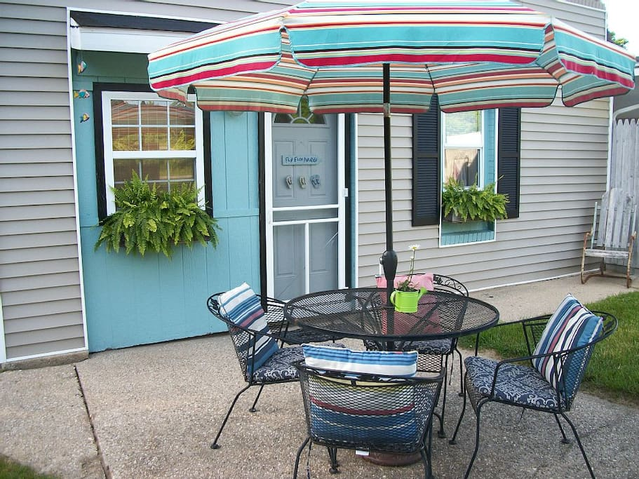 Welcome to the Sand Dollar Flat ~ at Beach Glass Bungalows.