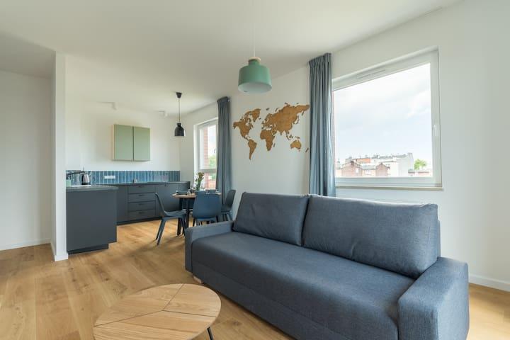 Apartament blisko Starówki-Długa Grobla A