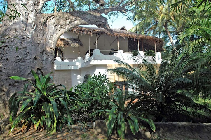 Baobab Villa-Villa-Romantic-Ensuite with Shower-Garden View