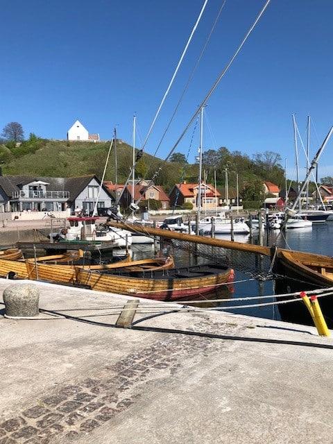 Enkel övernattning i Kyrkbacken  på ön Hven/Ven.