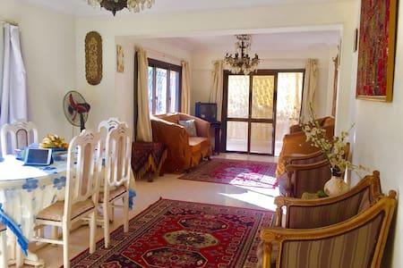 阳光舒适双床房,带有空调' - Nasr City