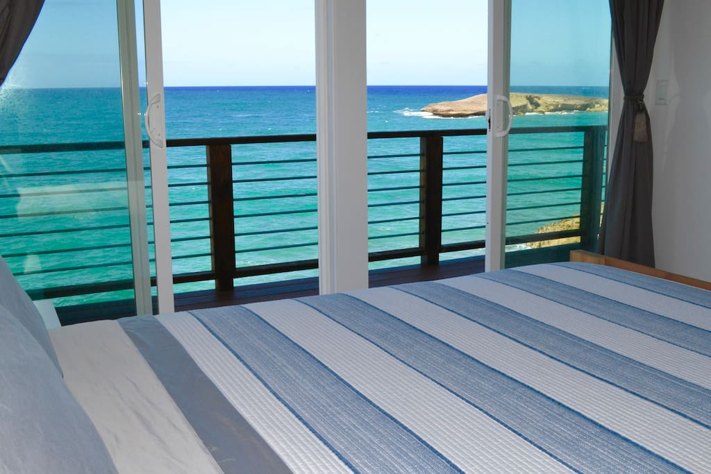 Wouldn't you love to wake up to this view from your oceanfront bedroom?
