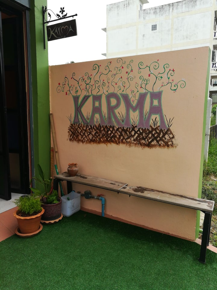 Karma home hostel.
