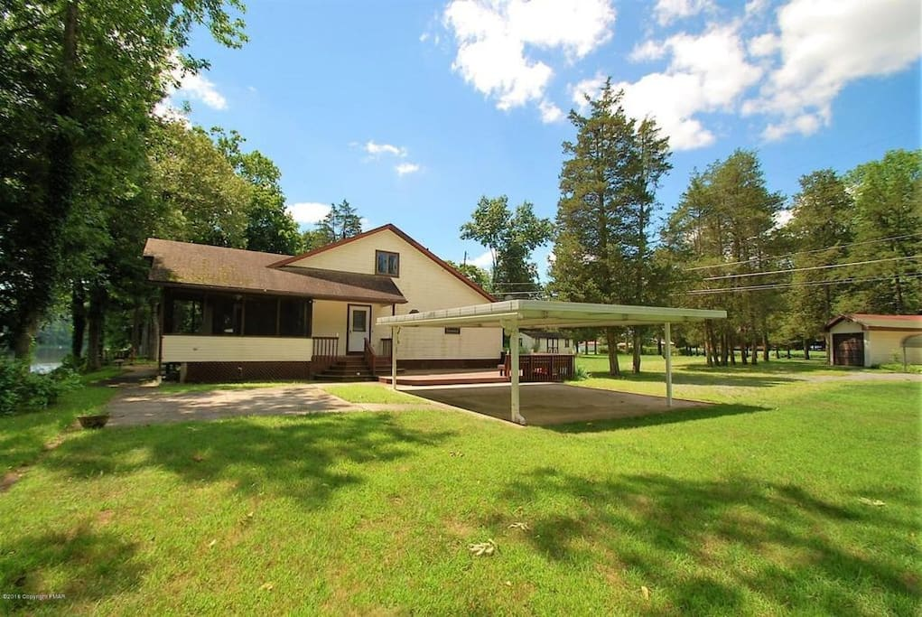 Full access to the entire house and 1 acre of property.