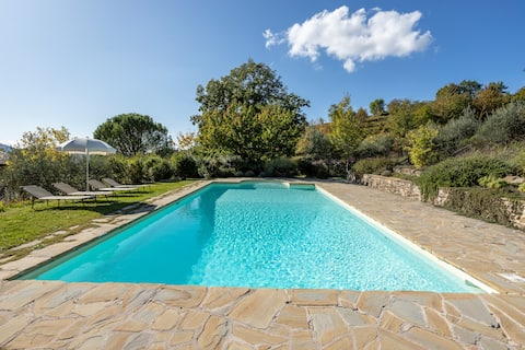 Lovely countryside views apartment - Assisi