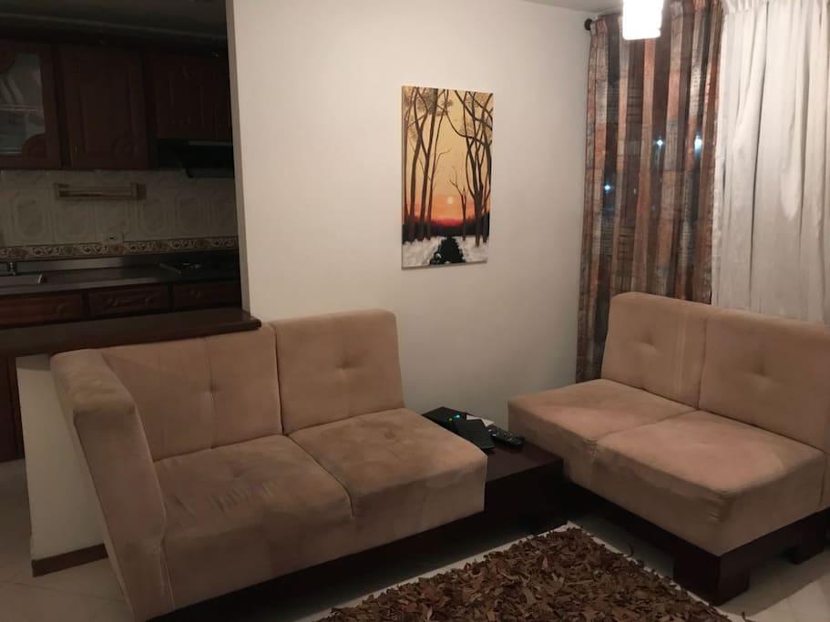 cómoda sala
