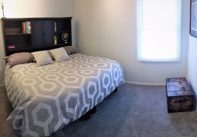 Bedroom 1 with king bed
