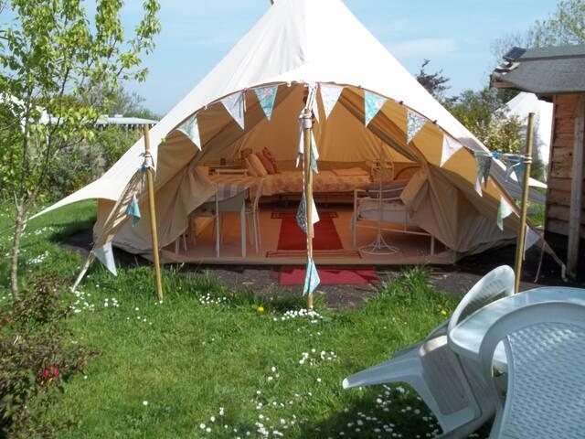 Rose 6 meter Family tent