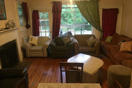 The Rectangle Bedroom in Wesley Hills - Monsey - 独立屋