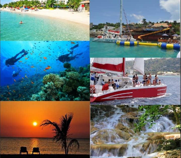 ★★MONTEGO BAY, JAMAICA★★★★SEAWIND ON THE BAY..★★