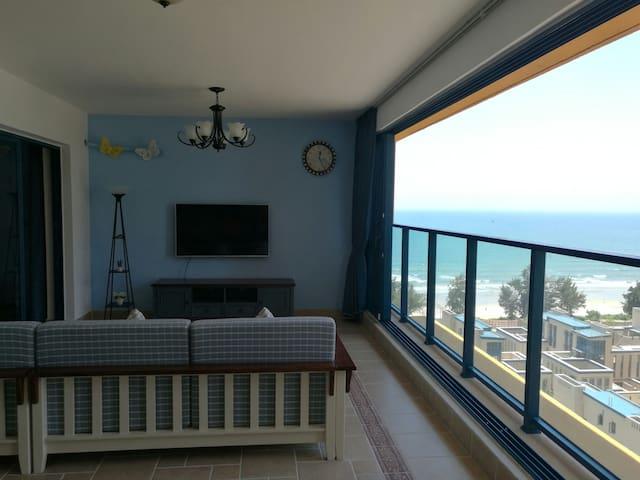 万科双月湾度假村2期空中沙滩2房2厅2卫地中海风格豪华海景度假公寓