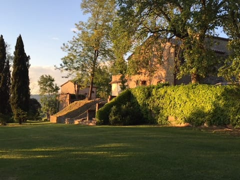Podere Andreana-Country house with pool-Leccino