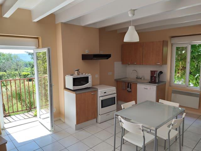 Appartement Lagnieu idéal CNPE-PIPA ViaRhôna