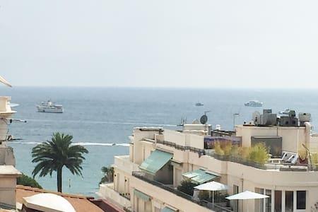 Studio terrasse vue mer proche Croisette - Cannes - Apartmen