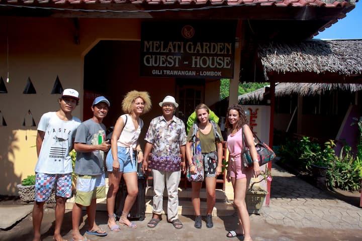 Melati Garden Guesthouse, Cool-Green,Clean,&peace.