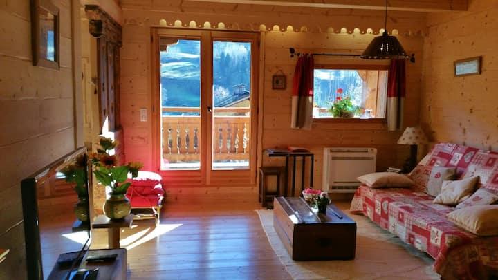 Chambre d'hôtes dans chalet typique savoyard