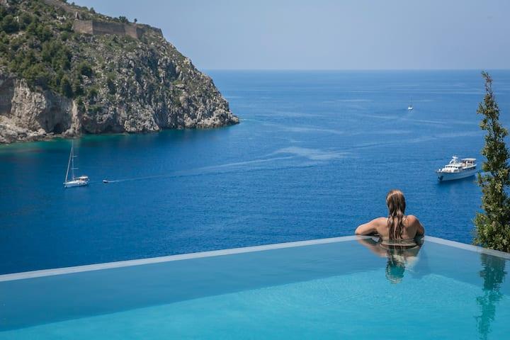 Villa Eleni 3 Bedroom Villa-2 Pools