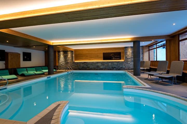 Appartement Abordable 200m des pistes   Accès Piscine + Sauna