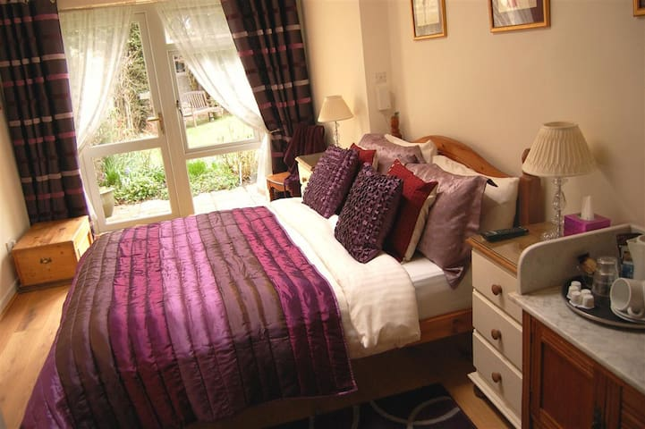 Double en suite garden room - Witney - Bed & Breakfast