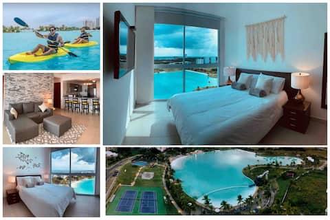Unique 5 Bedroom Suite Overlooking Playa Blanca