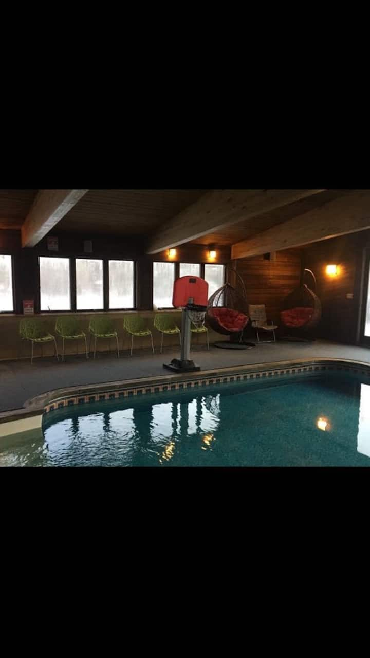 The Dream Houzz Indoor Heated Pool And Hot Tub Houses For Rent In Woodridge New York United States