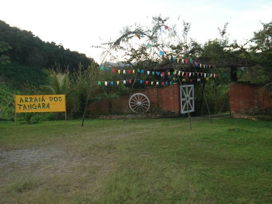 Entrada da Fazenda Tangará