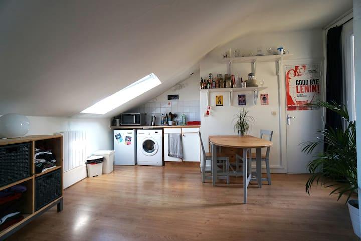 Studio spacieux et lumineux proche Parc Montsouris